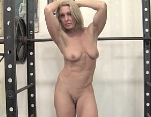 Here at SheMuscle we love nude female bodybuilders, and Tanya LOVES to be nude in the gym. There is something incredibly sexy about watching a naked muscle girl work her abs, glutes, legs, and biceps while completely naked. Thankfully there are women like Tanya...