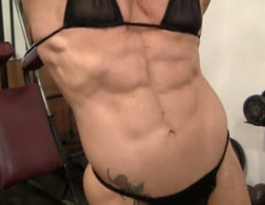 What words..., muscled women in bondage