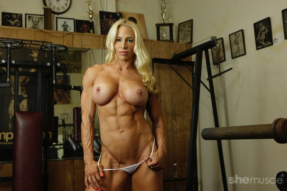 nude female bodybuilder Jill Jaxen