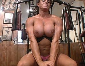 Those glutes, those legs, those vascular abs