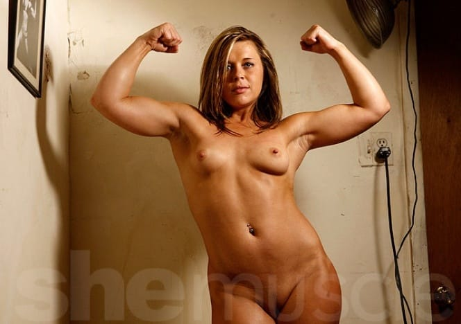 Talia she muscle gays with toys